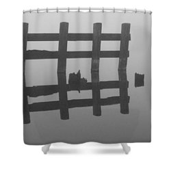 Shower Curtain featuring the photograph Lake Union Silhouette by Tom Vaughan
