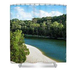 Lake Wabby Shower Curtain