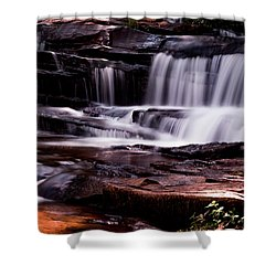 Lake Waterfall Shower Curtain