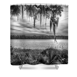 Shower Curtain featuring the photograph Lake Wauberg   by Howard Salmon