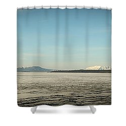 Lake Yellowstone Shower Curtain