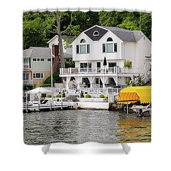 Lakefront Living Hopatcong Shower Curtain