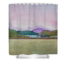 Lakes Of Killarney Shower Curtain