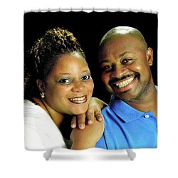 Lakeshid Derico And Terance Derico Shower Curtain