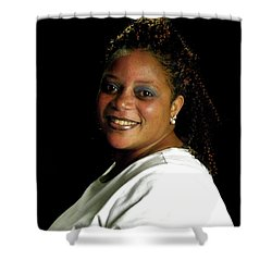 Lakeshid Derico  Shower Curtain