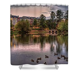 Lakeside At Milton Park Shower Curtain