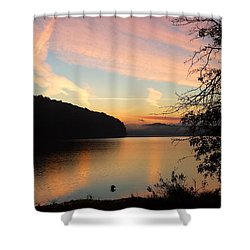 Lakeside Dreaming Shower Curtain