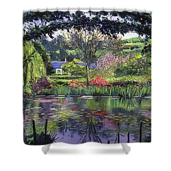 Lakeside Giverny Shower Curtain