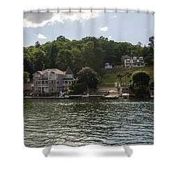 Lakeside Living Hopatcong Shower Curtain