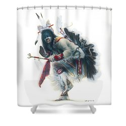 Lakota Dancer Shower Curtain
