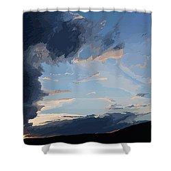 Lamar Sunset Shower Curtain