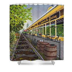 Lambertville Station Shower Curtain