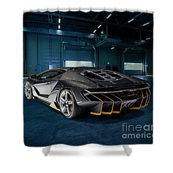 Lamborghini Centenario Lp 770-4 Shower Curtain