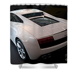 Lamborghini Gallardo Lp550-2 Shower Curtain