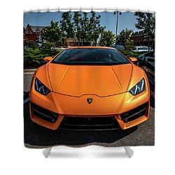 Lamborghini Huracan Shower Curtain