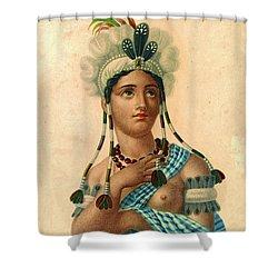 L'amerique 1820 Shower Curtain