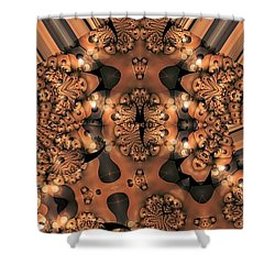 Lamp Light 3 Shower Curtain