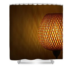 Lamp Shower Curtain