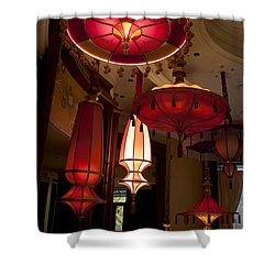 Shower Curtain featuring the photograph Lamps For Your Style by Ivete Basso Photography