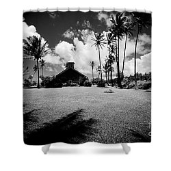 Shower Curtain featuring the photograph Lanakila Ihiihi O Iehowa O Na Kaua Church Keanae Maui Hawaii by Sharon Mau