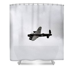 Lancaster Bomber Shower Curtain