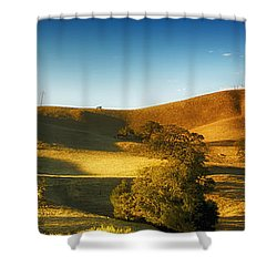 Land 2 Shower Curtain