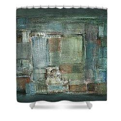 Texture Shower Curtain by Behzad Sohrabi