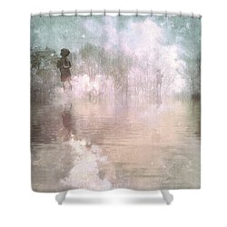 Land Of Ascension Shower Curtain