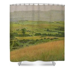 Land Of Grass Shower Curtain