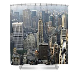 Land Of Skyscapers Shower Curtain