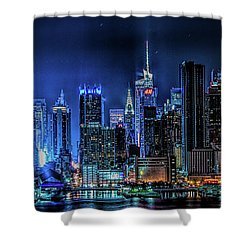 Land Of Tall Buildings Shower Curtain
