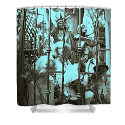 Shower Curtain featuring the photograph America Land Of The Free by Susan Carella