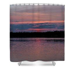 Land Of The Midnight Sun Shower Curtain