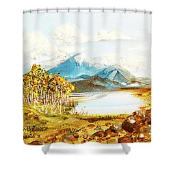 Land Scape No.-3 Shower Curtain