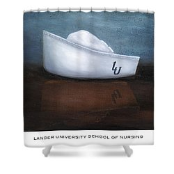 Lander University School Of Nursing Shower Curtain