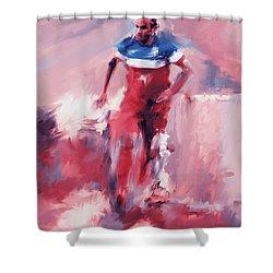 Landon Donovan 545 2 Shower Curtain by Mawra Tahreem