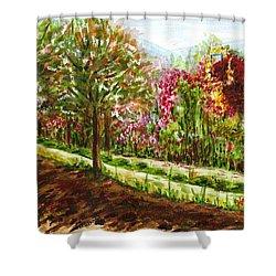 Landscape 2 Shower Curtain by Harsh Malik
