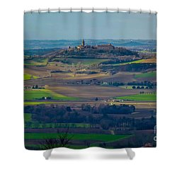 Landscape 2 Shower Curtain by Jean Bernard Roussilhe