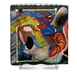 Landscape 3000 Shower Curtain by Antonio Ortiz