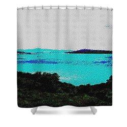 Landscape 32 Version 1 Shower Curtain
