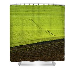 Landscape 4 Shower Curtain by Jean Bernard Roussilhe