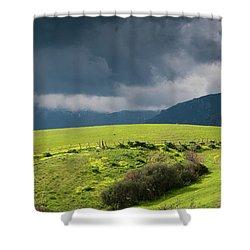 Landscape Aspromonte Shower Curtain