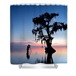 Landscape Backstage Shower Curtain