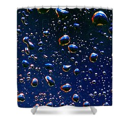 Shower Curtain featuring the photograph Landscape Bubbles by Marianne Dow