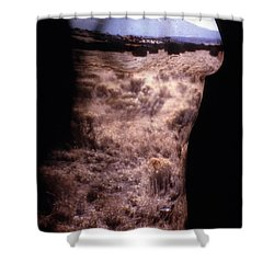 Landscape Dress Shower Curtain by Arla Patch