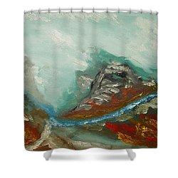 Landscape. Fantasy 19-2. Shower Curtain