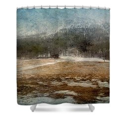 Landscape From Norway Shower Curtain