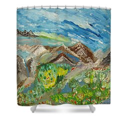 Landscape. Imagination 24. Shower Curtain