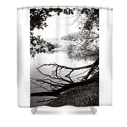 #landscape #lake  #mothernature Shower Curtain