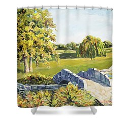 Landscape No. 12 Shower Curtain